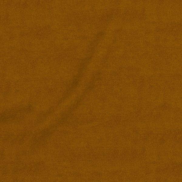 tissu coton montsegur ocre grande largeur