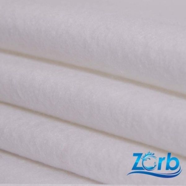 Tissu ZORB® original super absorbant blanc