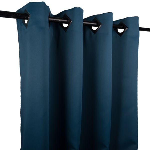 rideau obscurcissant bleu petrole