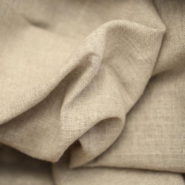 tissu lin naturel grande largeur