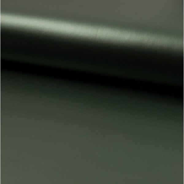 Tissu néoprène enduit vert kaki