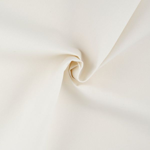 tissu toile exterieure hanck unie ecru grande largeur