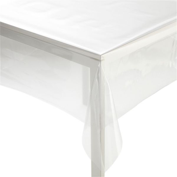 nappage cristal epais transparent