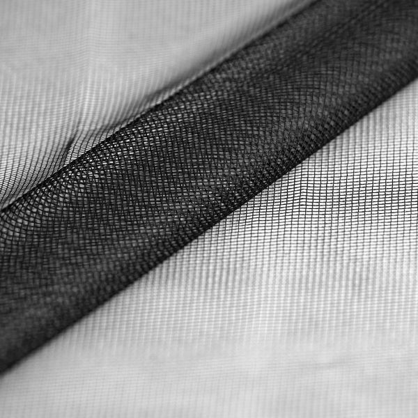 moustiquaire epaisse noire grande largeur