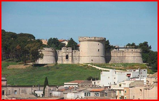 Castello Tramontano di Matera castelli della provincia di