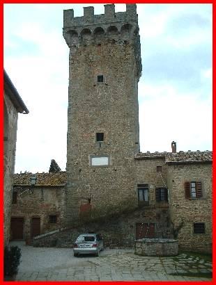 Castello di Gargonza Monte San Savino Castelli della provincia di Arezzo Castelli della