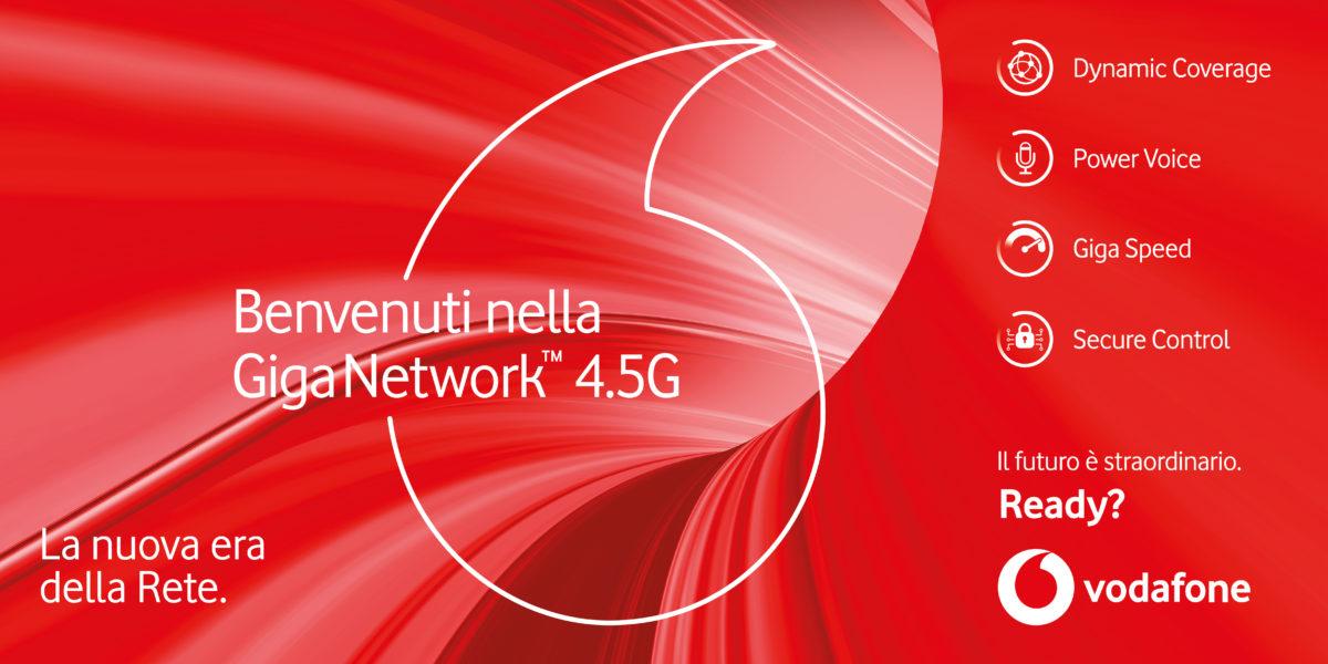 Da domenica gli spot di Giga Network 4.5G: Linus con Vodafone