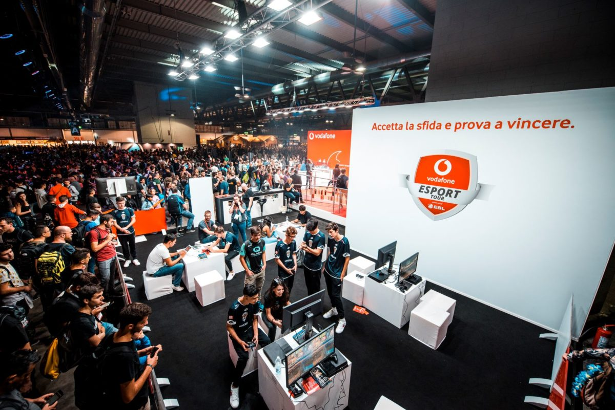 Esport in 5G, Vodafone annuncia l'ESL Mobile Open 2019