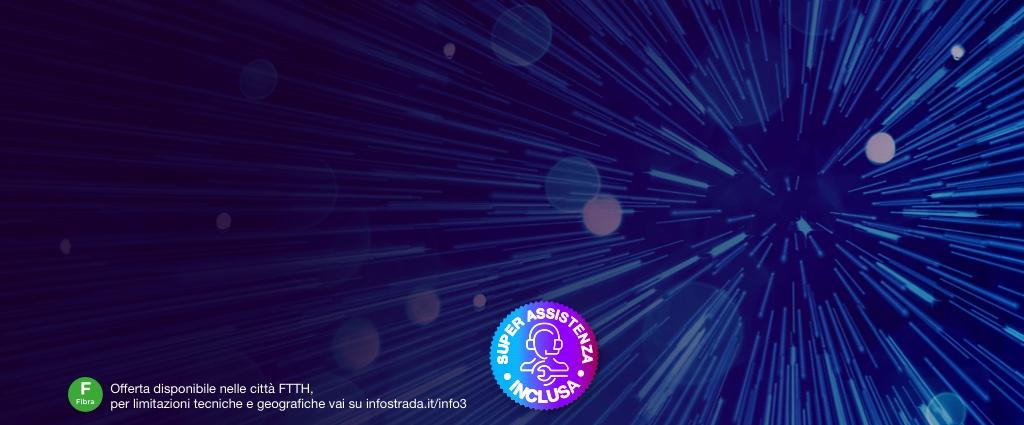 SMS per Super Fibra con Giga Illimitati per i clienti in target Scegli Ancora 3