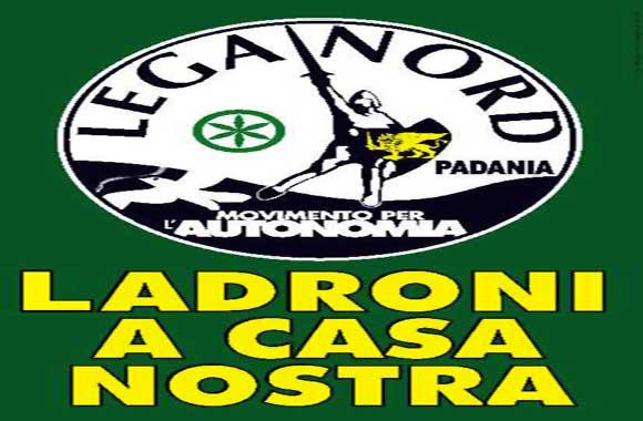 Cera una volta la Lega Nord e Roma ladrona