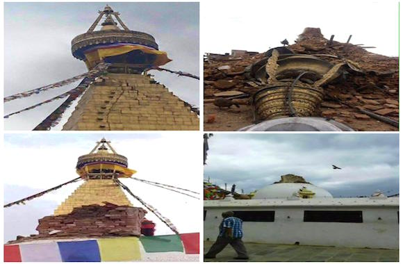 stupa di Budhanath