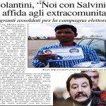 Salvini dà lavoro agli immigrati