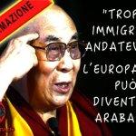 """Dalai Lama: """"Troppi migranti, dovrebbero andarsene"""". L'ha detto veramente?"""