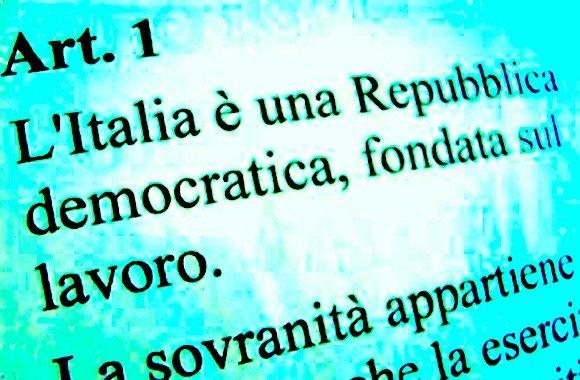 L'Italia è una Repubblica fondata sul lavoro
