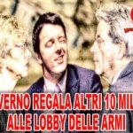 L'Italia ha bisogno di lavoro, non di carri armati e missili