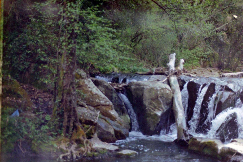 fotografia su pellicola 35mm cascate di chia