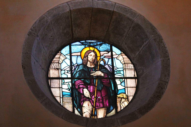 rosone chiesa di San Rocco Pitigliano