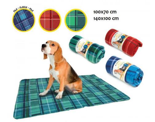 Coperta per cani in tartan
