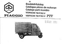 Tecnica Ape Piaggio TM P703 ATM2-ATM3: caratteristiche