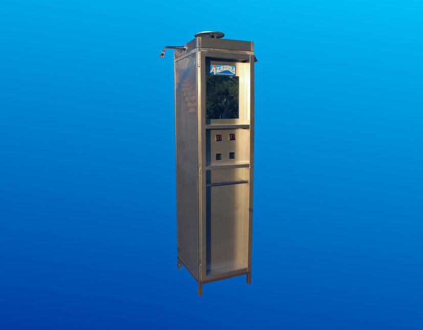 doccia per stabilimenti balneari