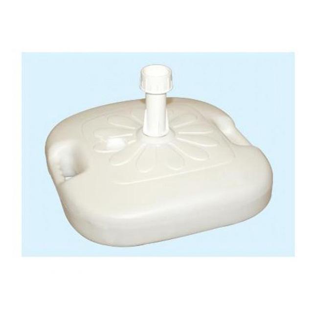 Base Per Ombrellone Plastica Bianco  Mondobrico
