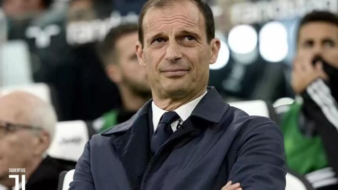 Juventus, l'allenatore Massimiliano Allegri