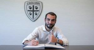 Cagliari, il giocatore Riccardo Ladinetti