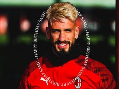 Milan, il giocatore Samu Castillejo