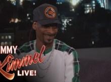snoop dogg jimmy kimmel live video 3 rapper preferiti canzone