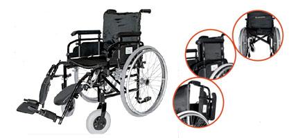 Carrozzina manuale leggera per disabili e per