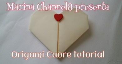 Origami cuore per San Valentino