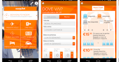 App easyjet biglietti aereo