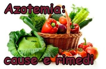 Azotemia alta cause e sintomi, dieta da seguire