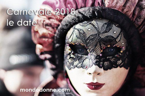 Quando è Carnevale 2018