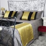 Cuscini arredo letto: comfort ed eleganza per camera raffinata a 5 stelle