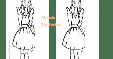 differenze disegni di Violetta