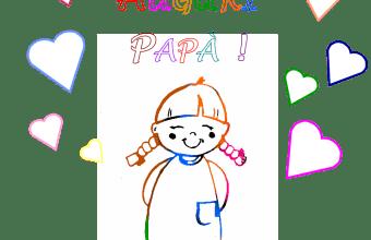 Festa del Papà: Crea il Biglietto, bimba