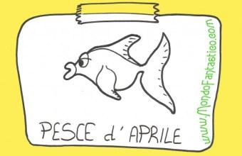 Pesce d'aprile, divertiti con i pesci: colora, ritaglia e attacca