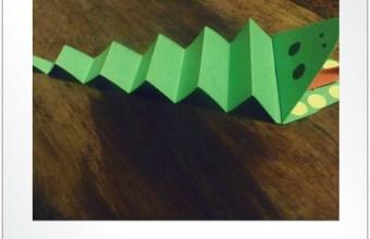 Coccodrillo di carta, crea e gioca