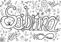 Colora il tuo nome Sabrina 1 - MondoFantastico.com