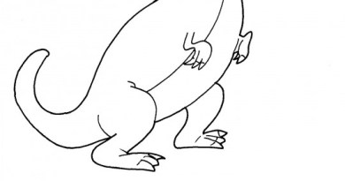dinosauro tirannosauro rex