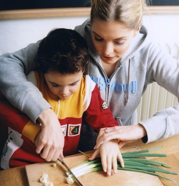 Aiutare la mamma in casa