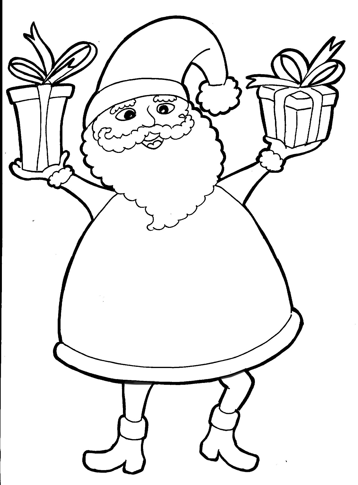 Disegni Di Natale Da Unire Con I Puntini.Immagini Babbo Natale Da Stampare Mondofantastico Com