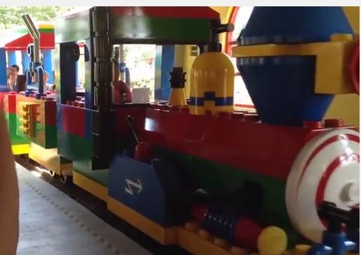 treno di lego a legoland malaysia
