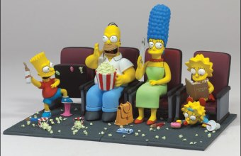 Action figures Simpson