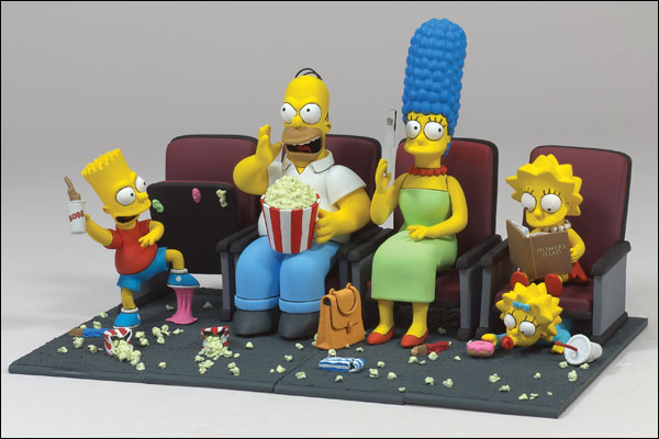Action figures i Simpson
