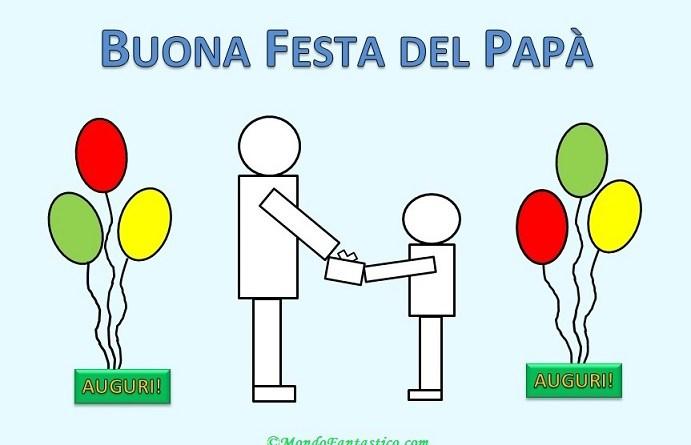 Disegni da stampare per la festa del papà