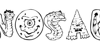 Parole da colorare: i Dinosauri