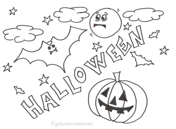Disegno da colorare halloween - Halloween immagini da colorare ...