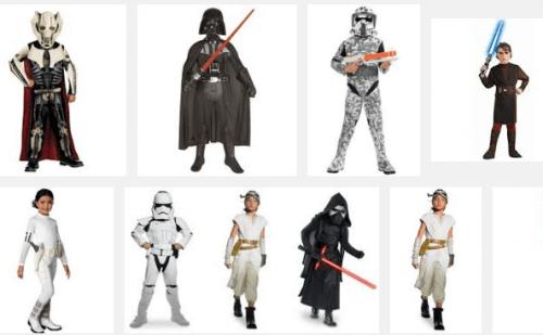 Star Wars costumi di Carnevale Bambini